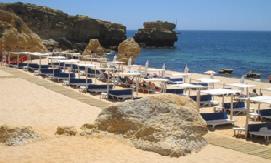 Portugal - Algarve - Albufeira - CS Sao Rafael Suite Hotel - Beach