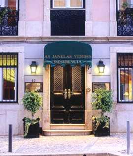 Lisbon Portugal Hotel As Janelas Verdes exterior
