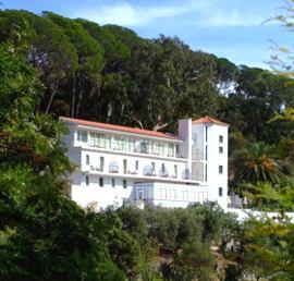 Portugal Algarve Caldas de Monchique Spa view of hotel
