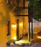 Portugal Algarve Caldas de Monchique terrace
