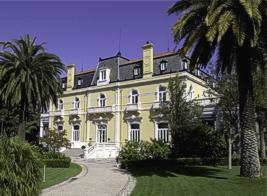 Exterior of Pestana Palace Hotel Lisbon Lisboa Portugal
