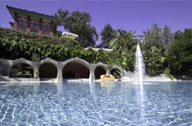 Pool at Pestana Palace Hotel Lisboa Portugal