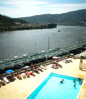 Portugal Peso da Regua Hotel Regua Douro swimming pool