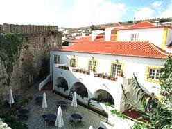 Obidos Portugal Hotel Lounge in Casa das Senhoras Rainhas