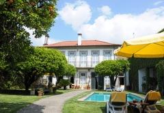 Northern Portugal Minho Costa Verde Ponte Lima Casa Pinheiro Exterior