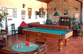 Games room at Casa Nobre de Correiro-Mor