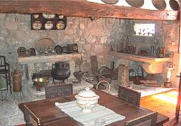 Old Kitchen used as a breakfast room