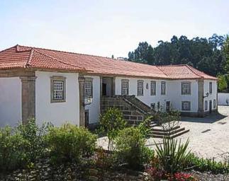 Portugal Minho Cabeceiras Basto Casa de Lamas Exterior