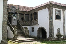The front of the Palace of Lanheses, one of the 'manor houses of Portugal