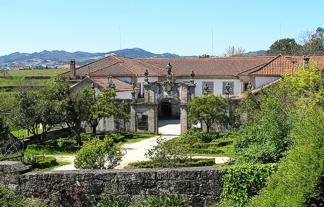 Portugal Minho Amarante Casa de Pascoaes exterior