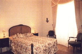 Bedroom at Palace of Rio Frio, Lisbon