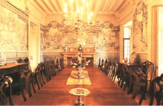 Room at Palace of Rio Frio, Lisbon