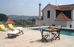Exterior of Quinta da Vila Francelina Beiras Portugal