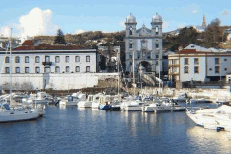 UNESCO World Heritage Site - Angra do Heroismo - Azores islands