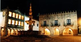 Main square in Viana do Castelo