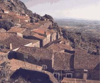 A village in the mountains of Portugal