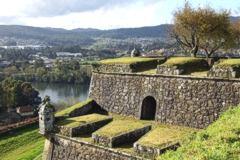 Valenca Minho Portugal view