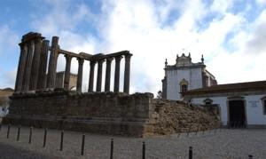 Roman Temple in Evora